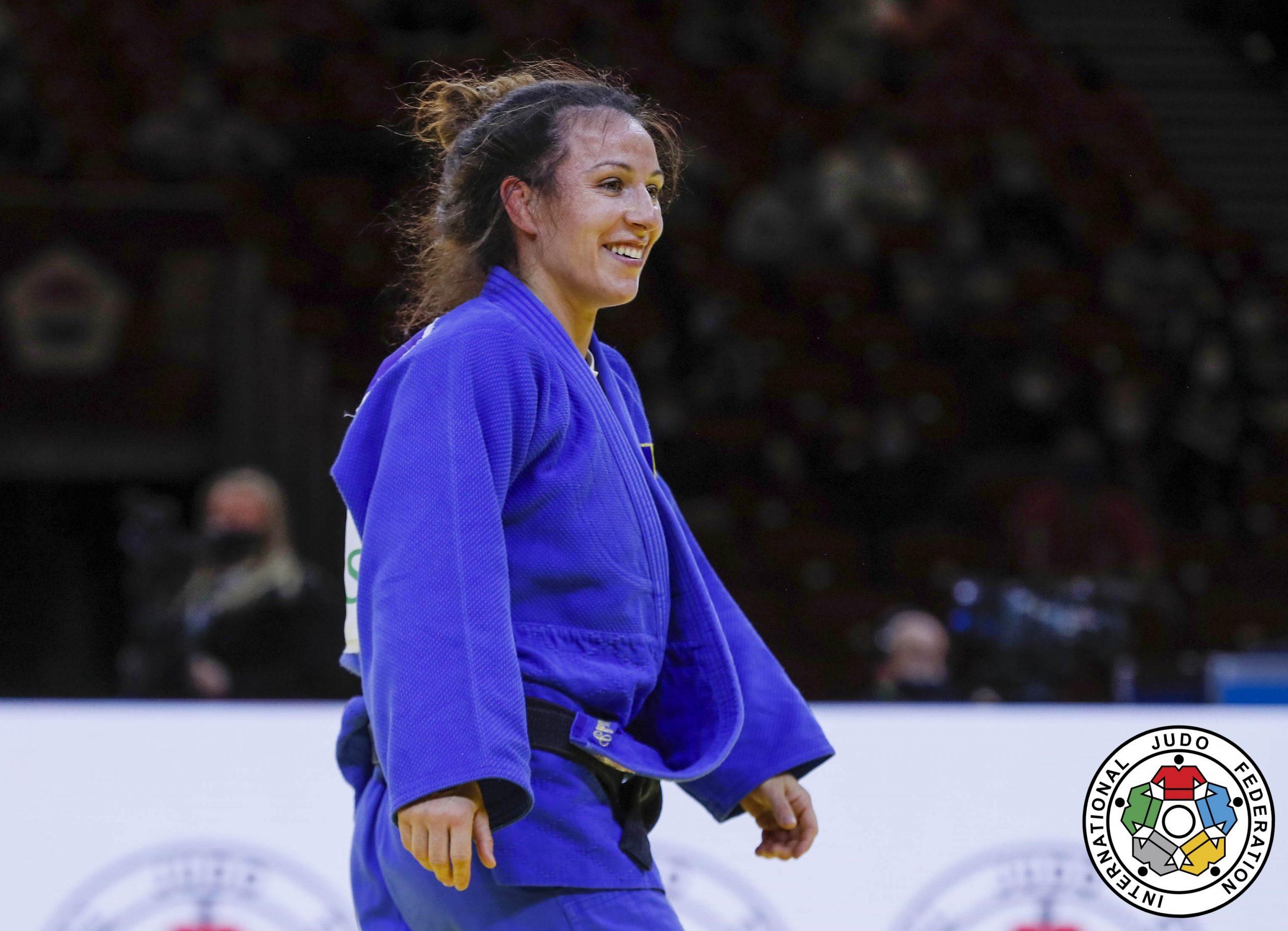 Judo: Andreea Chiţu, locul al treilea la Grand Slam-ul de la Budapesta