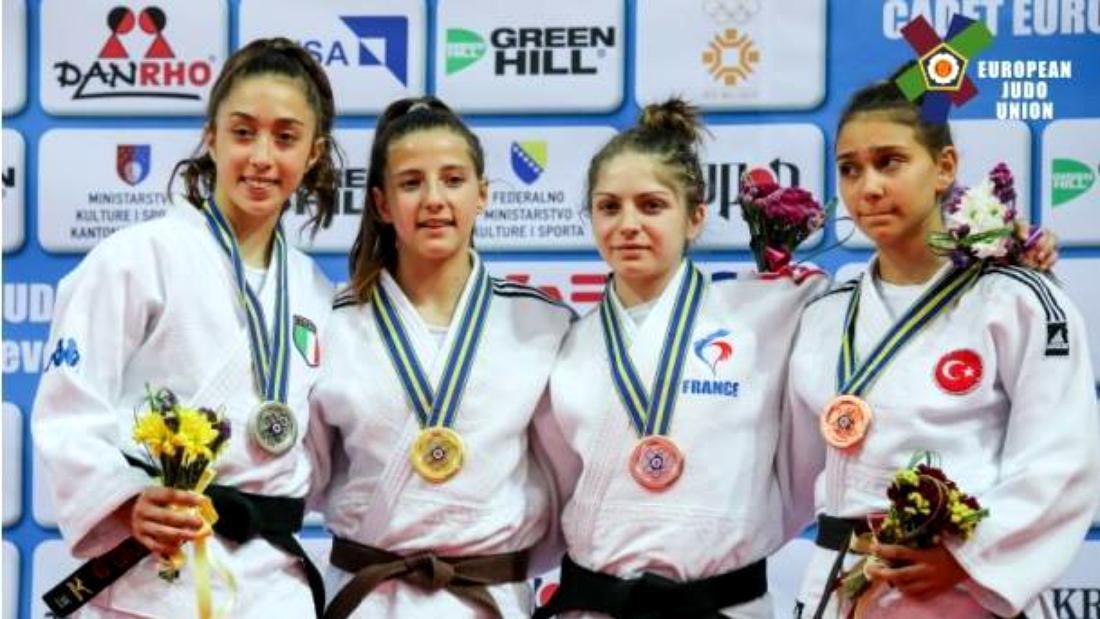 România e de aur. 5 medalii au câștigat sportivii români la Campionatul European de Judo pentru cadeți. Ce spune Cozmin Gușă
