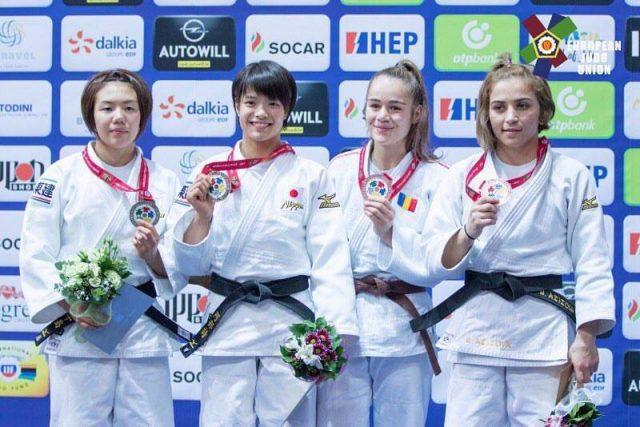 Judo: Cleonia Rîciu a cucerit prima medalie pentru România la CM de juniori de la Zagreb
