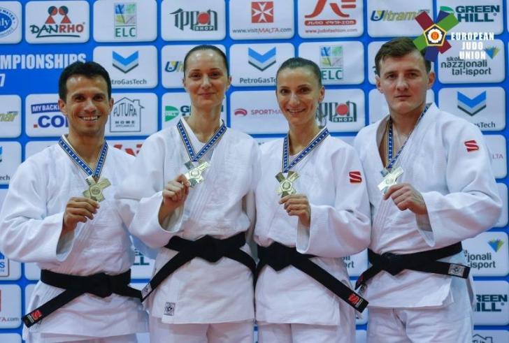 România a câştigat două medalii de aur la Campionatul European de Judo Kata din Malta