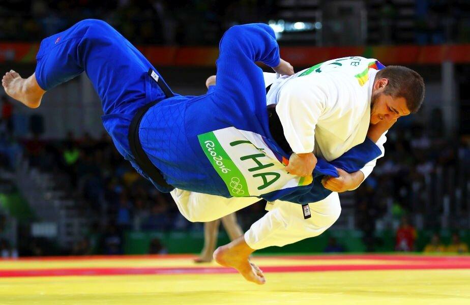 Aur și bronz pentru români la Openul de judo de la București
