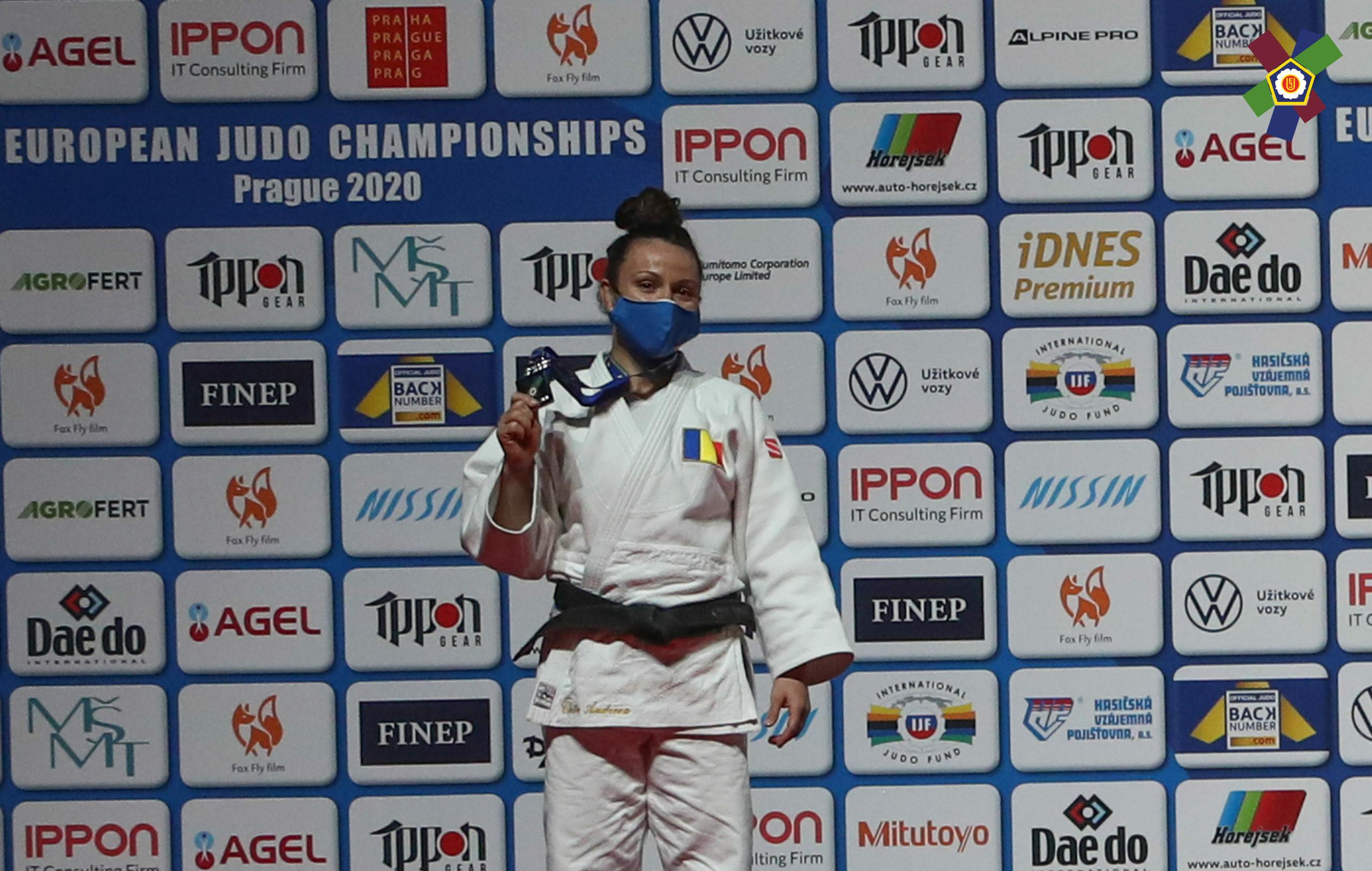 Veste superbă pentru sportul românesc! Andreea Chițu a câștigat medalia de argint la Campionatele Europene de Judo de la Praga