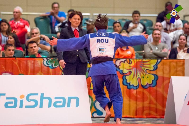 Bronz pentru Cleonia Rîciu la Mondialele de judo pentru juniori
