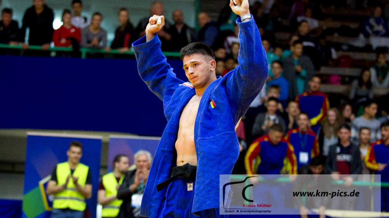 Judoka Eduard Șerban, campion mondial de cadeți în Chile