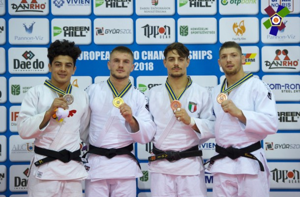 Judo: Marcel Cercea, medaliat cu bronz la Europenele Under-23