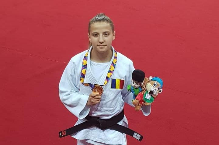 FOTE 2019 Judo, Giorgia Hagianu, aur, 40 kg