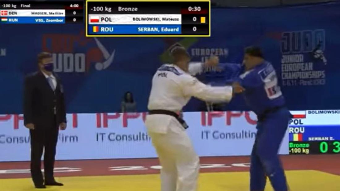 România, reușită fabuloasă la Judo! Încă o medalie pentru țara noastră la Campionatele Europene de Tineret | VIDEO