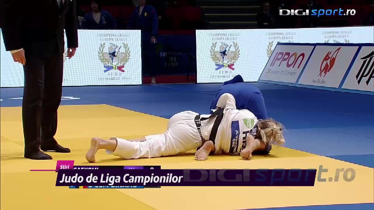VIDEO Judo de Liga Campionilor, pentru prima oară în România. Ohâi și Simionescu au impresionat