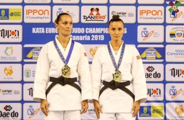 Alina Cheru şi Alina Zaharia au cucerit medalia de AUR la CE de Judo Kata din Spania