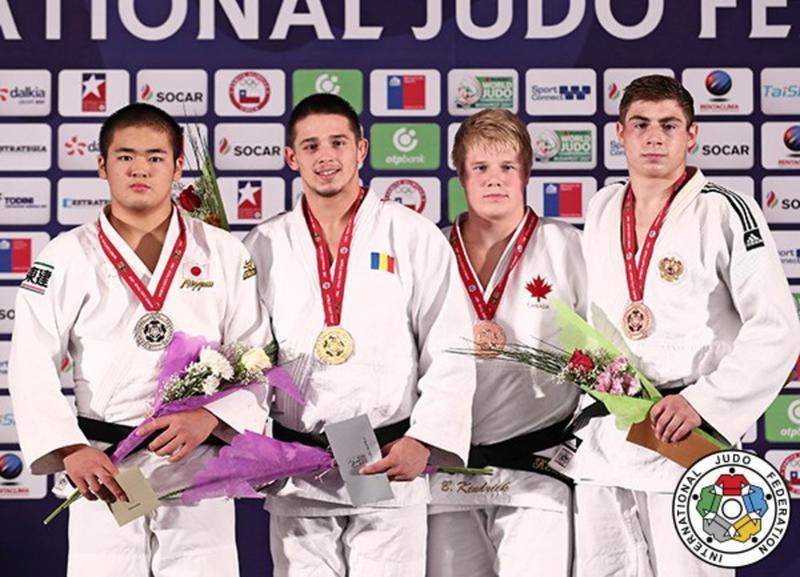 Judo: Eduard Șerban, campion mondial de cadeți