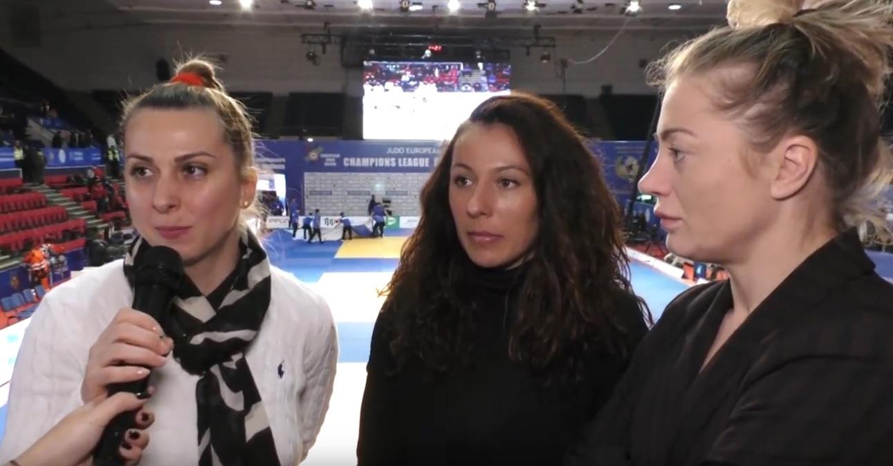 C.E. BUCURESTI 2018 Interviu Alina Dumitru, Andreea Chitu si Corina Stefan