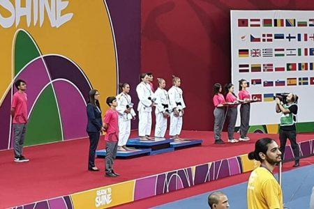 Judoka Alexandra Paşca, a şaptea medalie pentru România, la FOTE