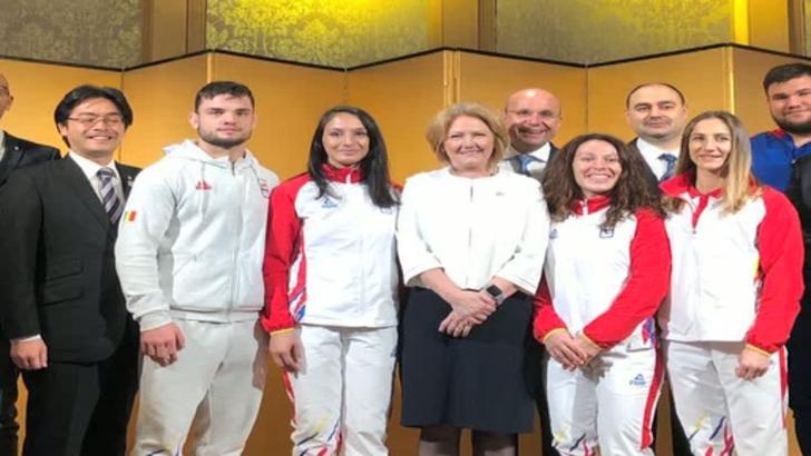 Lotul de judo al României se antrenează cu japonezii