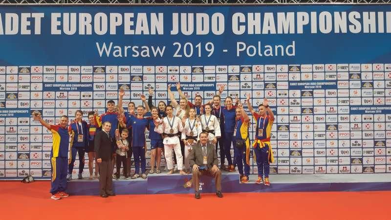 Judo: România are patru medalii după două zile la Europenele de cadeţi