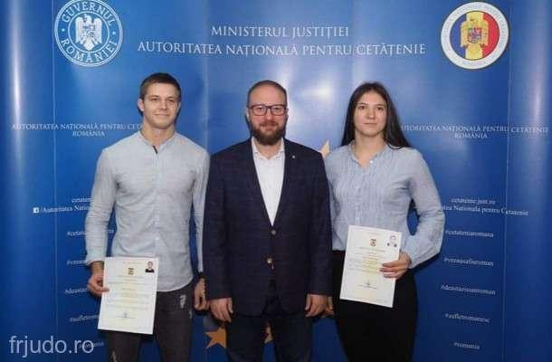 Federaţia Română de Judo a naturalizat un rus şi o moldoveancă