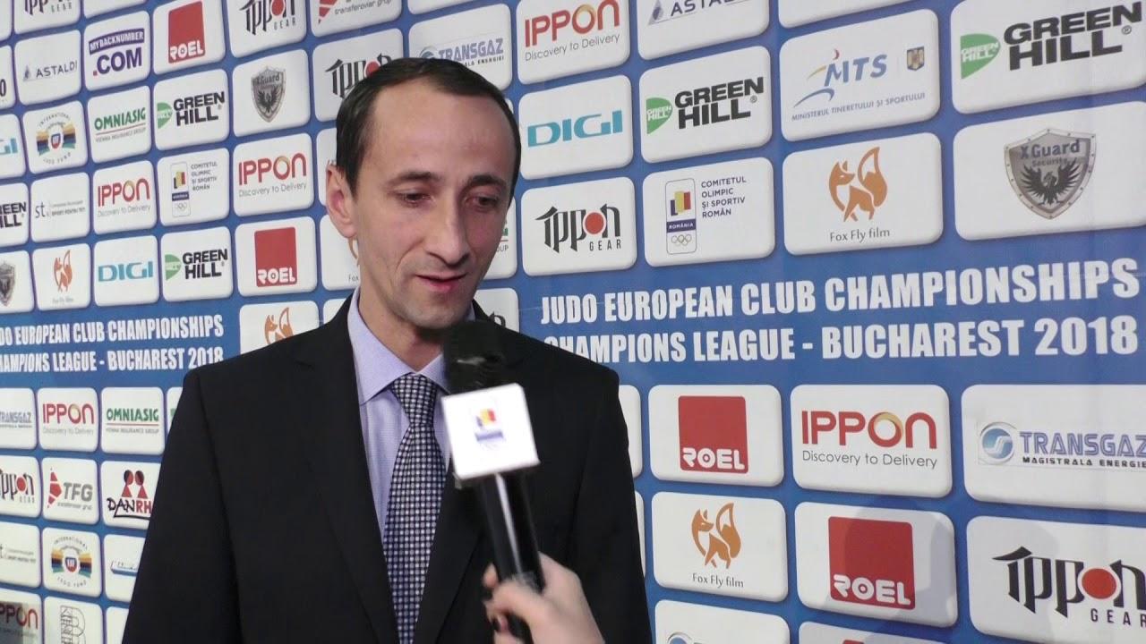 C.E. JUDO BUCURESTI 2018 Interviu Mihai Covaliu