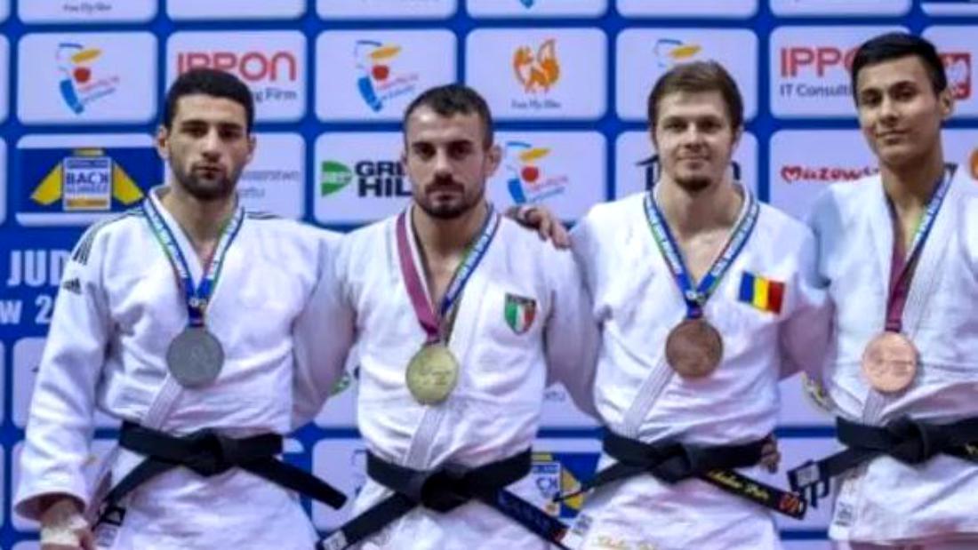 3 medalii pentru România la judo! Un rus naturalizat a spart gheața la European Open Varșovia