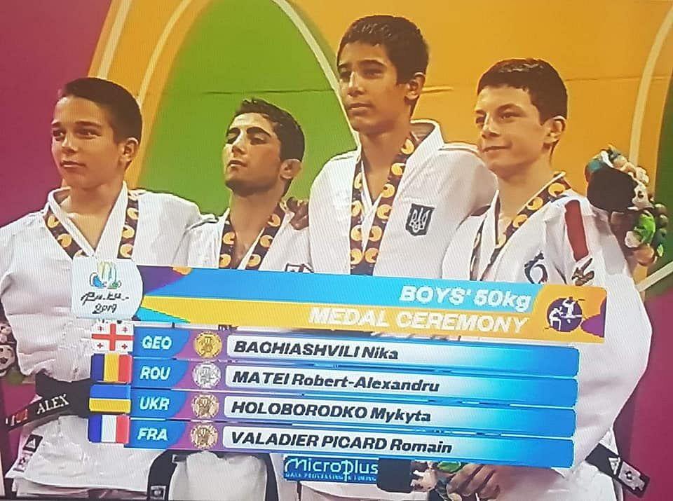 FOTE 2019 Judo, Alexandru Matei, argint 50 kg